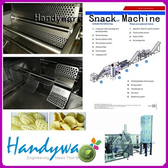HANDYWARE Brand multipurpose pringles machine engineering industrial fryer machine
