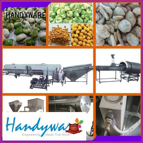 full line coated peanut coating machine HANDYWARE Brand company