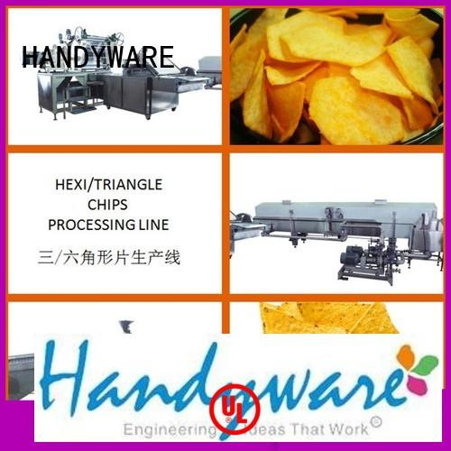 Quality HANDYWARE Brand automatic chips making machine processing
