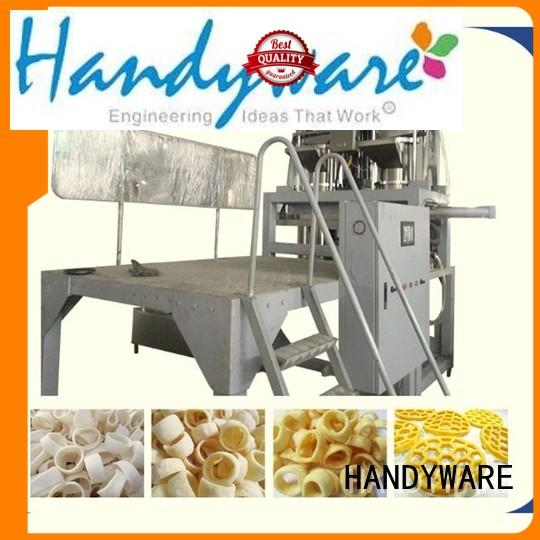 machinery puffed screw twin screw extruder manufacturers HANDYWARE manufacture