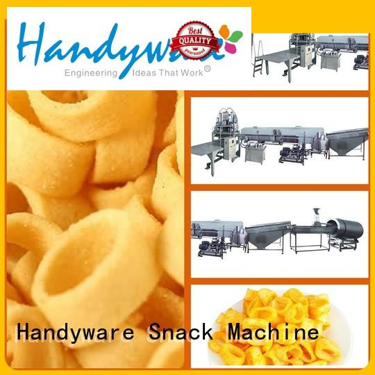 extruder direct HANDYWARE Brand potato chips manufacturing machine factory