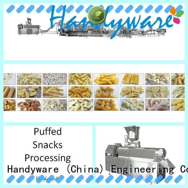 HANDYWARE easy to use double screw extrude foreign trader for chips