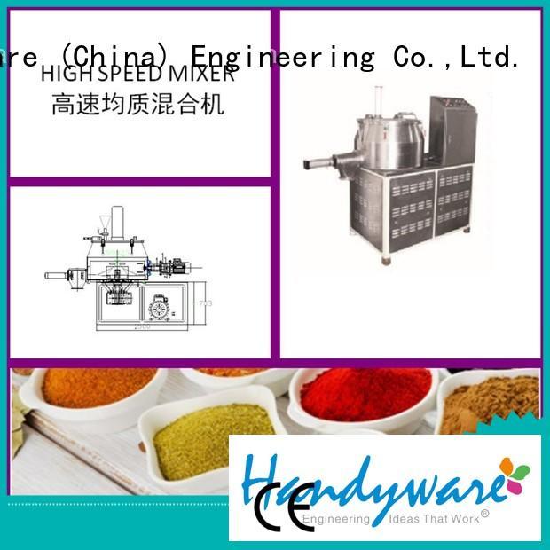 efficiency industrial powder mixer flour HANDYWARE company