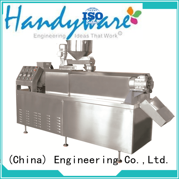 HANDYWARE snack twin screw extruder foreign trader for sale