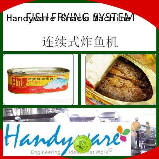 automatic industrial fryer machine snacks fish