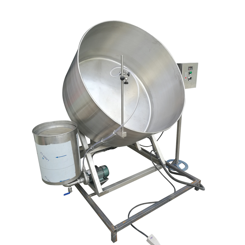 Semi-auto Coating System Peanut Coater Machine