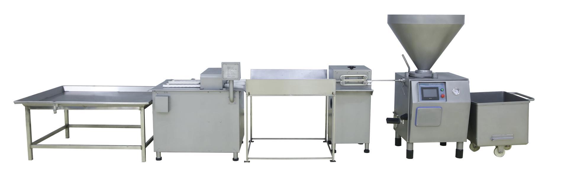 Complete Sausage Making Machine Line