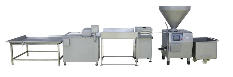 Complete Sausage Making Machine Line